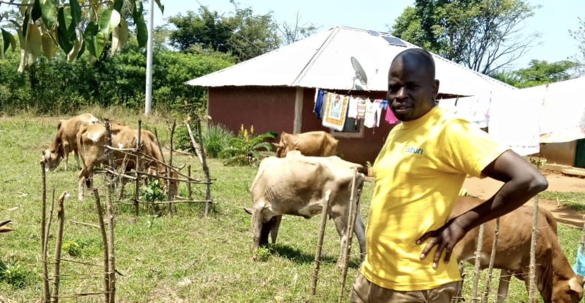 Meshack Omollo is one of Azuri's most passionate senior field sales agents. Meshack felt the benefit of Azuri as a customer, now he is keen on ensuring that his entire community has access to clean, reliable energy too. Read here:  #OffGridSolar #CleanTech