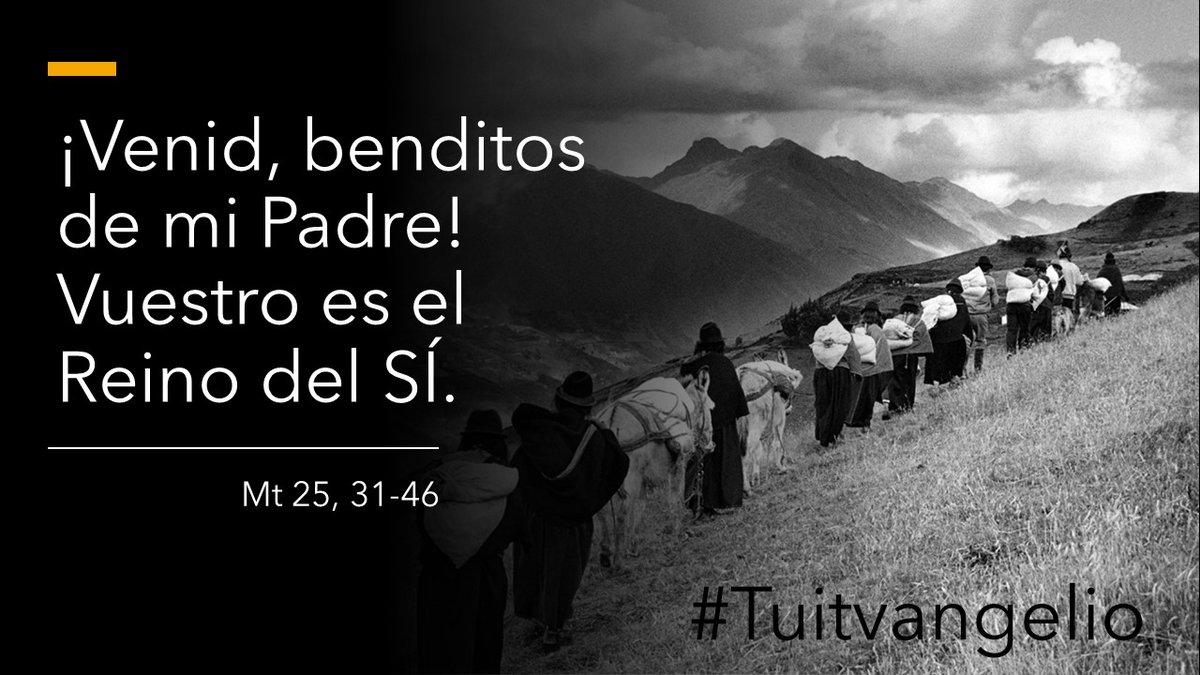 @Pontifex_es #Tuutvangelio