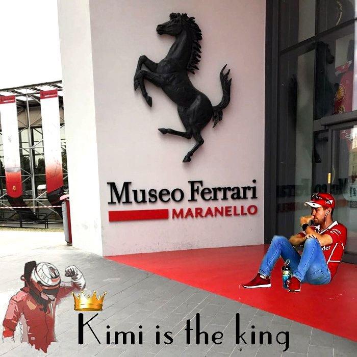 A todos los fans de #Vettel les digo, que le ganó el mano a mano, pero de que sirvió si el ultimo campeon con Ferrari sigue siendo el.mismo!. Saludos!. https://t.co/b73BuievJQ