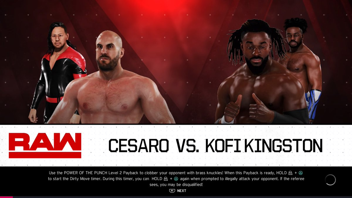 #TheNewDay/#Cesaro, #ShinsukeNakamura rivalry continues! The former #WWEChampion takes on the #SwissSuperman.  Watch live at 5pm GMT.  https://t.co/EjJ3o4uHJ4  #WWE #2K20 #WWE2K20 #RAW #WWERAW #NXT #WWENXT #SmackDown #Wrestle #Wrestling https://t.co/gQePuwkGRm