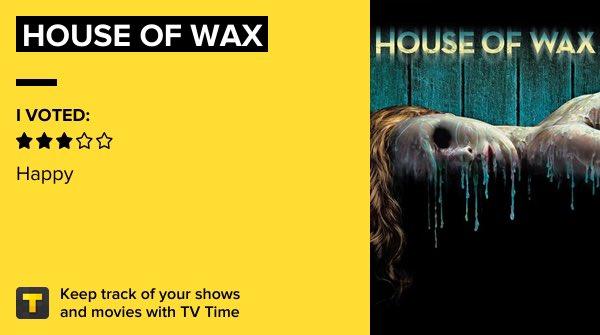 House of Wax   Gostei, mas não assistiria de novo