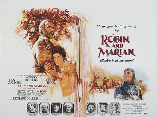 Enjoyed this mid-period Connery today. One of Audrey Hepburn's final performances, Robert Shaw as a snarly Sheriff of Nottingham, and Denholm Elliott and Connery teaming up 12 years before Last Crusade (they were also both in 1979's Cuba).