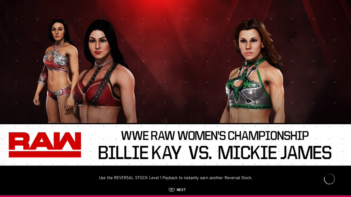 #IIconics' #BillieKay faces #RawWomensChampion #MickieJames for the #RawWomensTitle!  Watch live at 5pm GMT.  https://t.co/EjJ3o4MiAC  #WWE #2K20 #WWE2K20 #RAW #WWERAW #NXT #WWENXT #SmackDown #Wrestle #Wrestling https://t.co/YtyeLNc6cP