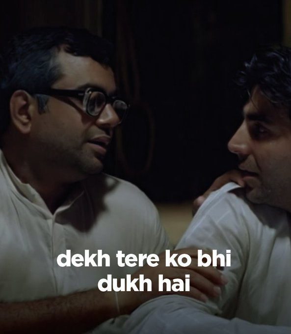 Me a Barca fan... When I see Arsenal and United fans bitching about their club  Aasli dukh La Liga mein hai kabhi kabhar uska bhi table check kiya karo  Source - @dailyherapheri https://t.co/WTYmoCGHfO