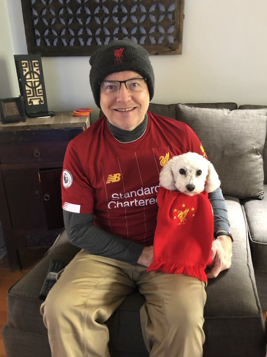 Replying to @berlydallas: @NBCSportsSoccer You'll Never Bark Alone! #LiverpoolFC #youllneverbarkalone #MyPLMorning