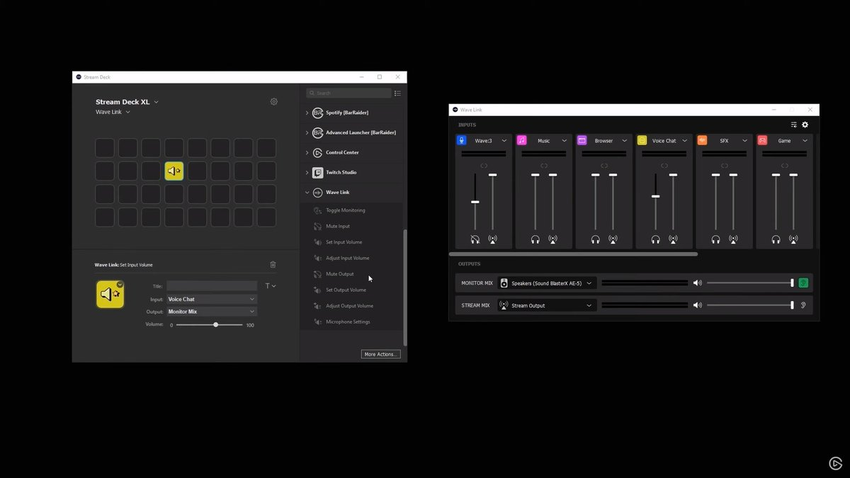 ElgatoGaming - Did you know you can control Wave Link from your Stream Deck?  📺: