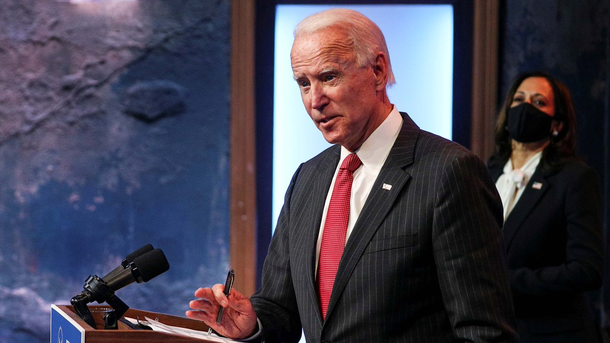 Joe Biden, the projected winner of the 2020 U.S. presidential election will announce the first of his Cabinet appointments on Tuesday, members of his transition team said on Sunday.