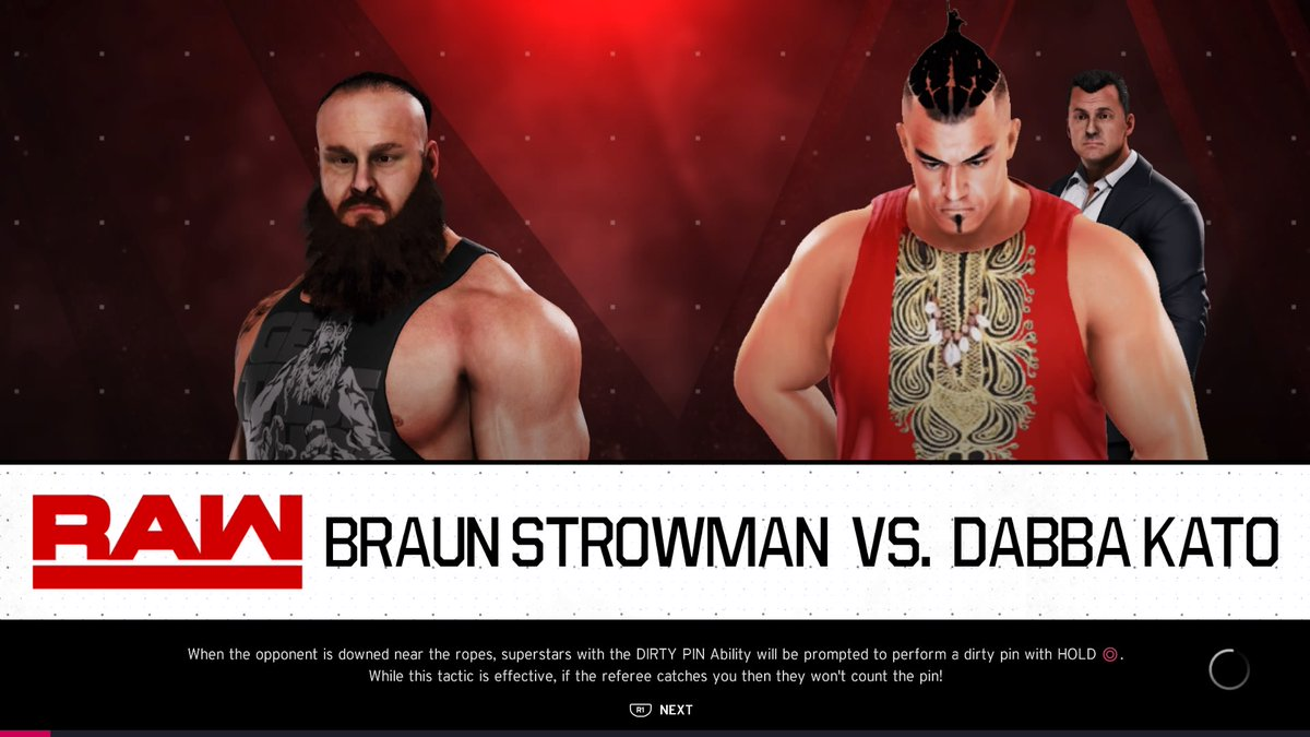 THE MONSTERS COLLIDE! #BraunStrowman & #Dabbakato go at it again! They both have a win apiece through #RawUnderground, who takes the upper had tonight?  Watch live at 5pm GMT.   https://t.co/EjJ3o4MiAC  #WWE #2K20 #WWE2K20 #RAW #WWERAW #NXT #WWENXT #SmackDown #Wrestle #Wrestling https://t.co/DYAJqGG5JK