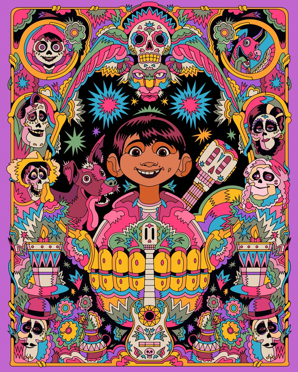 """On this day in 2017, Coco opened in theatres in the United States! Have you been able to get """"Remember Me"""" out of your head since?"""