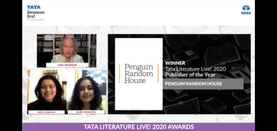 Incredibly honoured and humbled to be @tatalitlive Publisher of the Year for the second year in a row! ✨✨ #PengWin