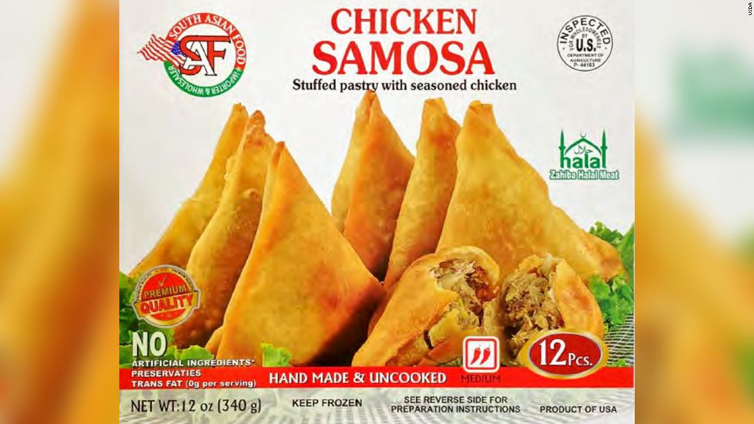The USDA issues health alerts for some beef stock, samosas and tamales Photo