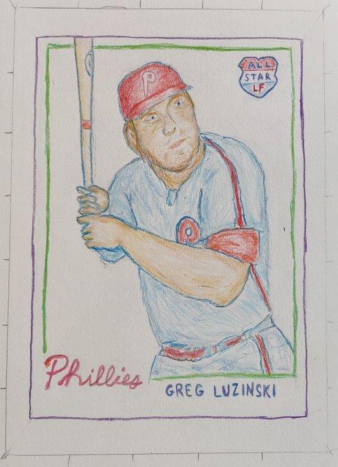 Happy Birthday Greg Luzinski.