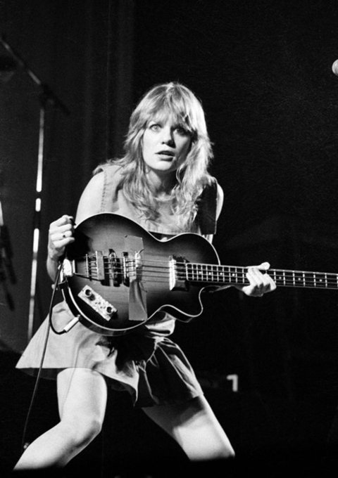 The one and only Tina Weymouth. Happy birthday.