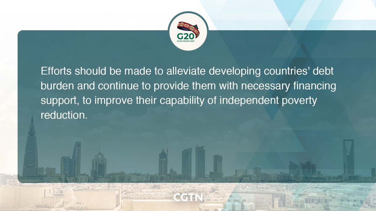 Chinese President #XiJinping's key quotes at Session II of the 15th G20 Leaders' Summit