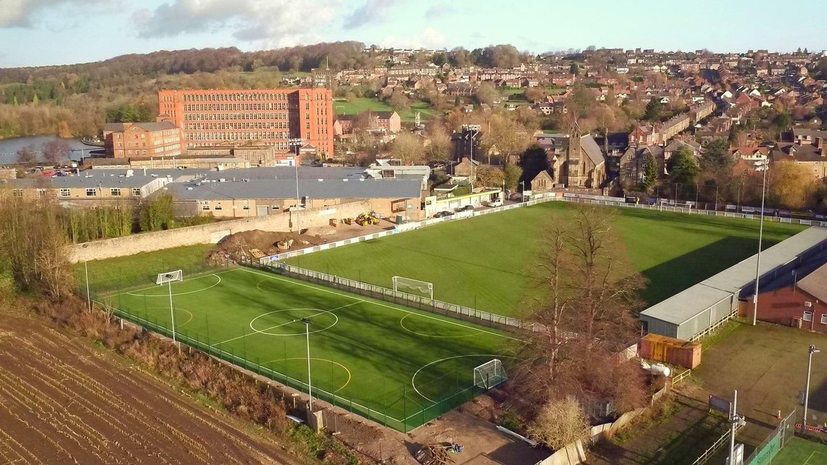 A nice aerial view of our new 4G training pitch, courtesy of Tom Carter