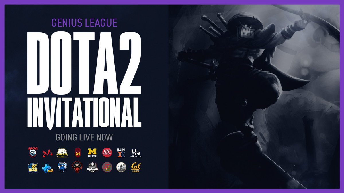 Evil Geniuses - We're live NOW with Collegiate #DOTA2 as @UBuffaloEsports and @WustlEsports go head to head in the Genius League Invitational: