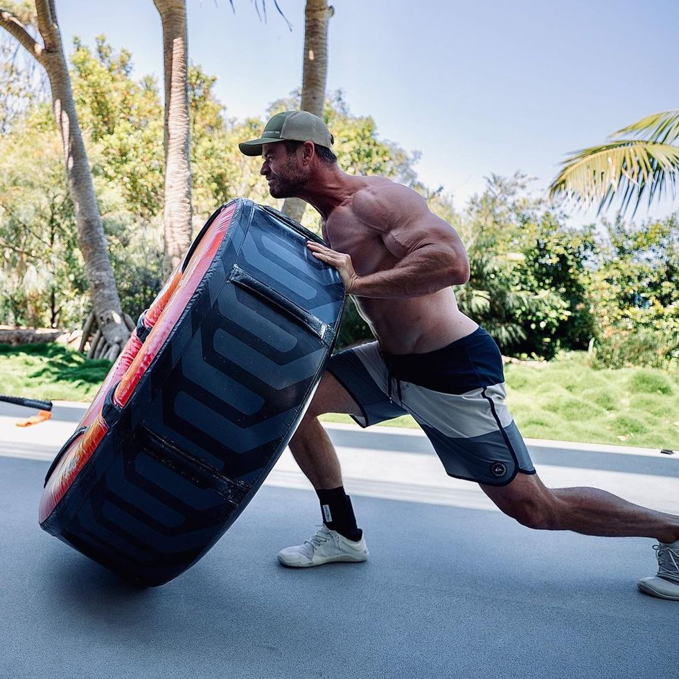 Chris Hemsworth Is Officially Hulk Hogan-Level Jacked in a New Instagram Photo