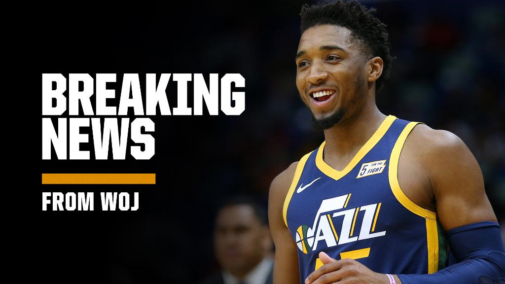 Breaking: Donovan Mitchell has agreed to a five-year, $195M designated rookie max extension with the Jazz, his agents tell @wojespn.