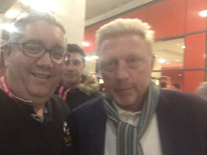 Happy 53rd Birthday former Wimbledon Champion Boris Becker, have a great day my friend