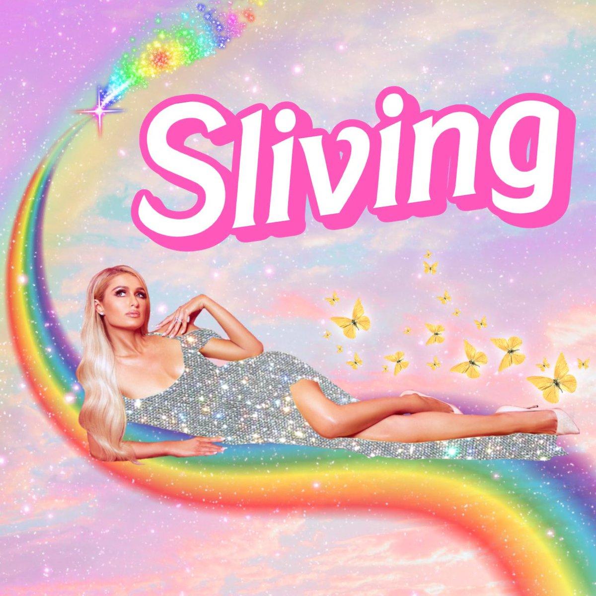 #Sliving  #Paris Hilton - очаровательная маленькая врушка. Я, гврт, слово новое придумала. Ну яхез...