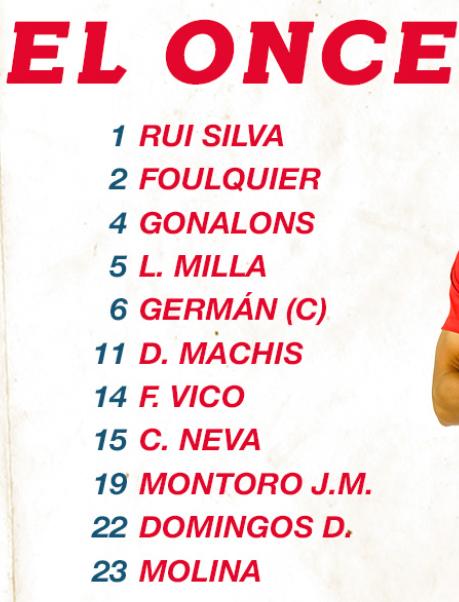 XI GRANADA (VS. Real Valladolid) #LaLigaSantander   ¡Nos vemos a las 12 en @elchiringuitotv! https://t.co/FJmQziOmcF