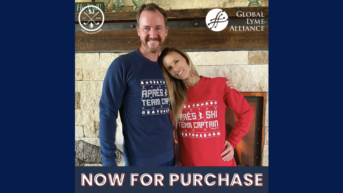 Ugly sweaters for a beautiful cause! In partnership with @swingjuice, PGA TOUR Champion Jimmy Walker, and his wife GLA board member Erin Walker (@tourwifetravels), are raising funds for GLA by donating a portion of all proceeds from their ugly sweaters 💚>>