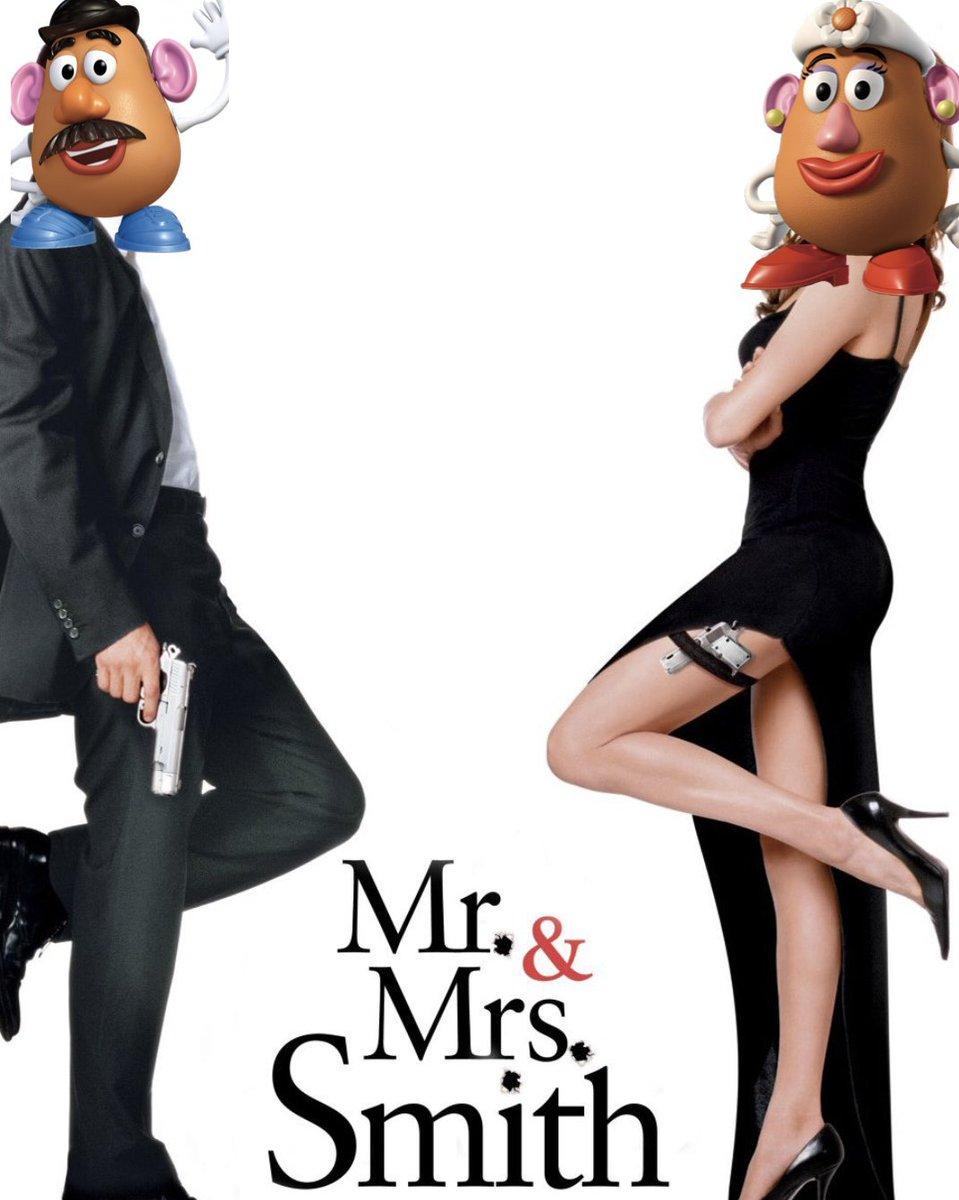 Mr. and Mrs. Potato Head: celeb power couple