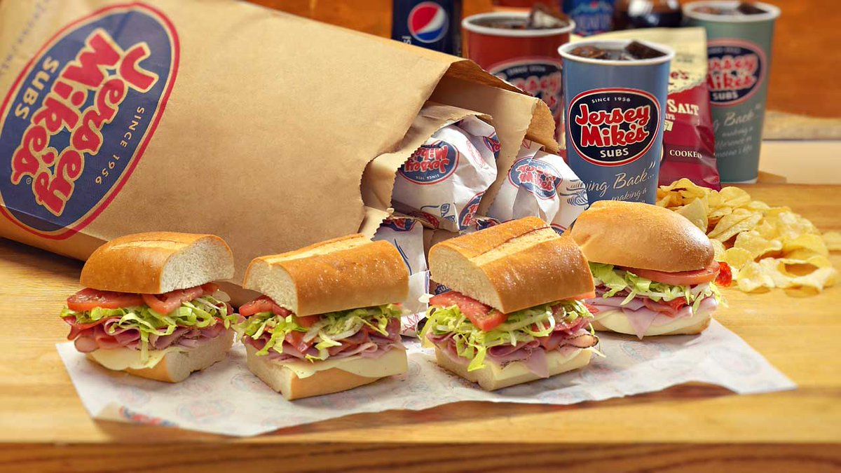 Wait. What??!! I've only had @jerseymikes a couple of times. It wasn't a preference of mine. But now. I'm going to spend my hard earned money there at least 4xs a month. This week: @jerseymikes is giving 20% of their profits to help feed the homeless. They pay it forward BIG TIME
