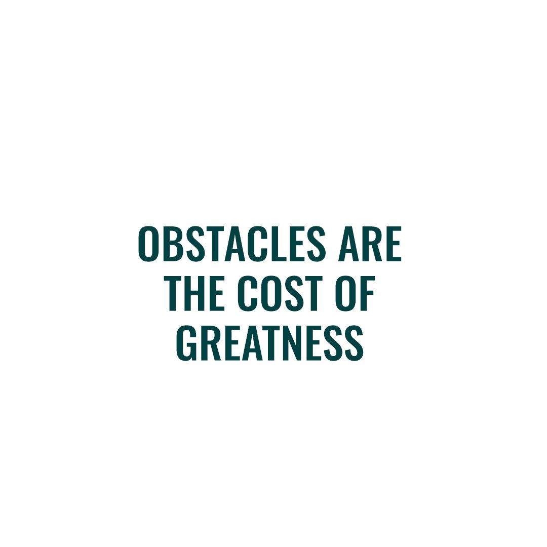 What have you overcome this week to achieve greatness? 👇