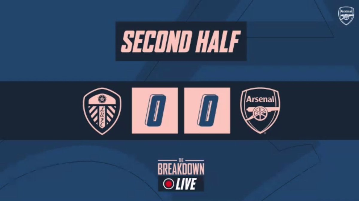 Happy to welcome any final whistle thoughts from Arsenal fans for The Breakdown Live post match show…  Keep 'em clean! 😉