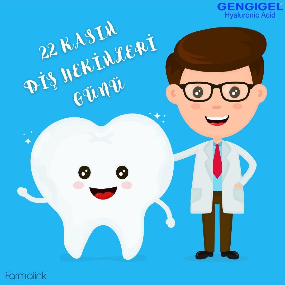 22 Kasım Diş Hekimleri Günü Kutlu Olsun! https://t.co/txDMBw1p6N