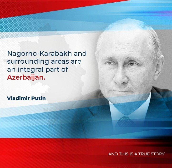 Nagorno-Karabakh and surrounding areas are an integral part of #Azerbaijan #KarabakhisAzerbaijan