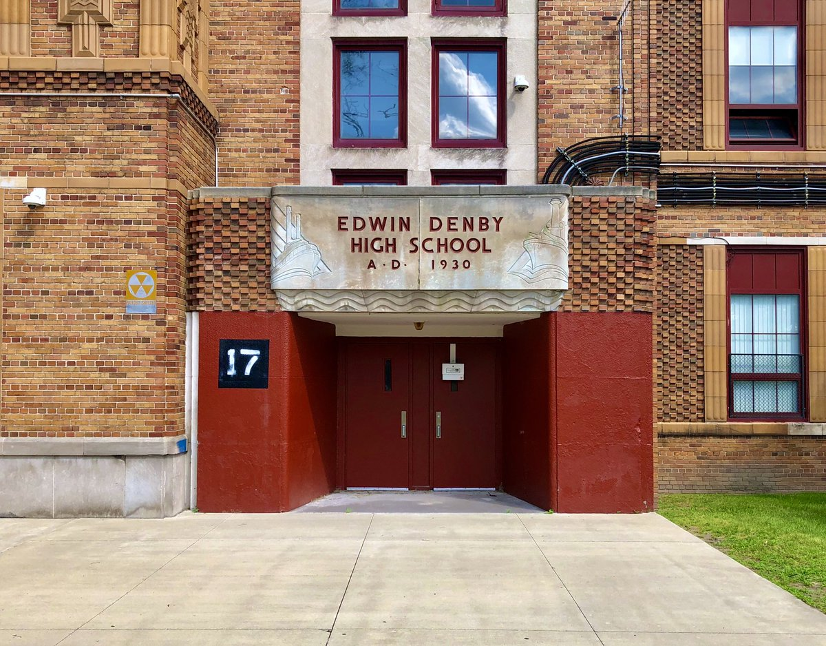 #FontSunday Detroit Public School Edition