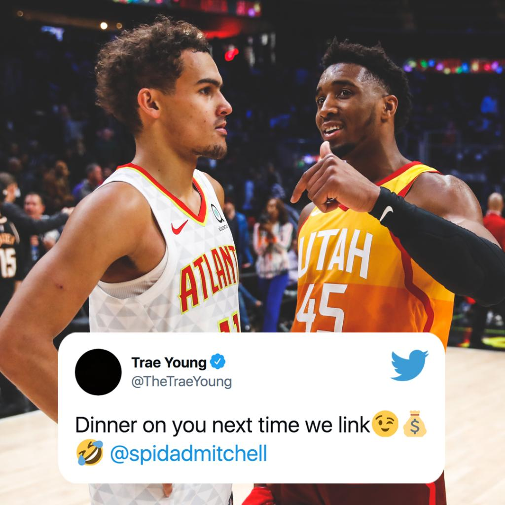 Players around the NBA are loving Donovan Mitchell's reported max deal 💰 https://t.co/zx6133GTHr