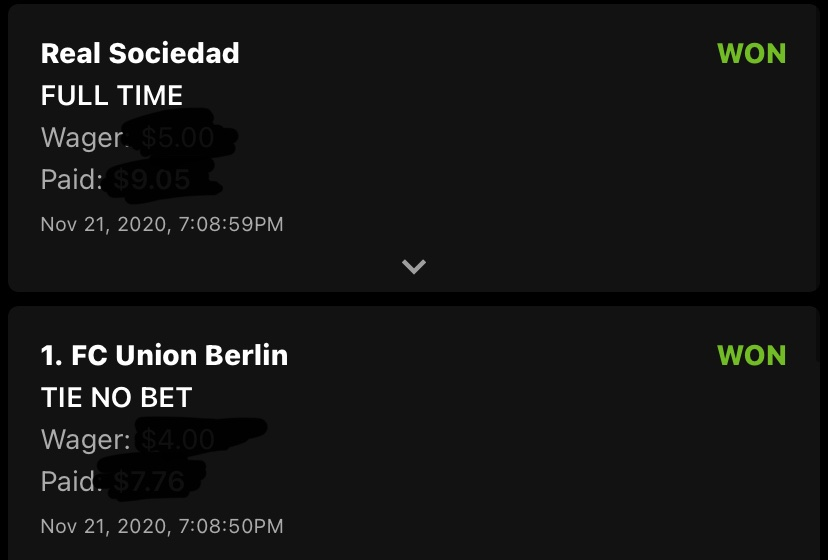We love these @bubbagumpino soccer picks! Thanks for the winners 💸💸