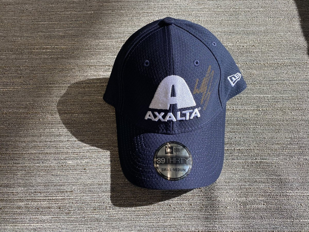 Replying to @TeamHendrick: Like and RT for a chance to win an @AxaltaRacing hat signed by @WilliamByron!