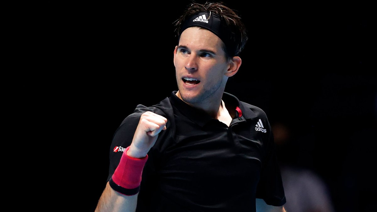 Perfect start for Thiem 👌  🇦🇹 @ThiemDomi leads Medvedev 6-4 in the final #NittoATPFinals https://t.co/SgKXGN7QlM
