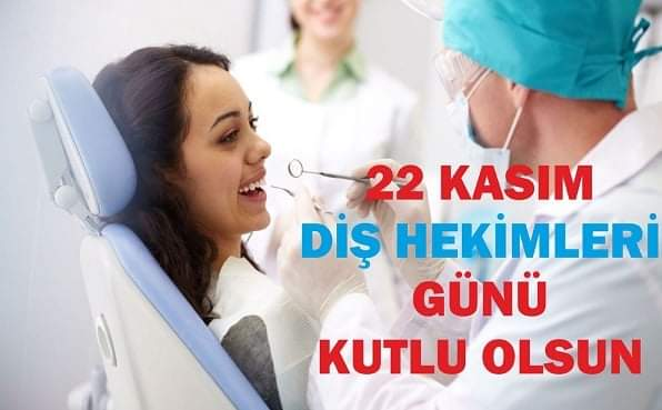 22 KASIM DİŞ HEKİMLERİ GÜNÜ Ağız ve diş sağlığı bilincinin oluşması ve iyileştirilmesi için büyük bir özveriyle çalışan tüm diş hekimlerinin, 22 Kasım Diş Hekimleri Günü'nü kutluyor, sağlıklı günler diliyoruz. https://t.co/2lE53AlOKB