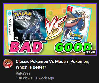 JPRPokeTrainer98 - I have not watched this video, (it just popped in my recommendations) but I would like to pre-emptively congratulate this guy on 1,000,000 views due to all the people who will probably leave angry comments