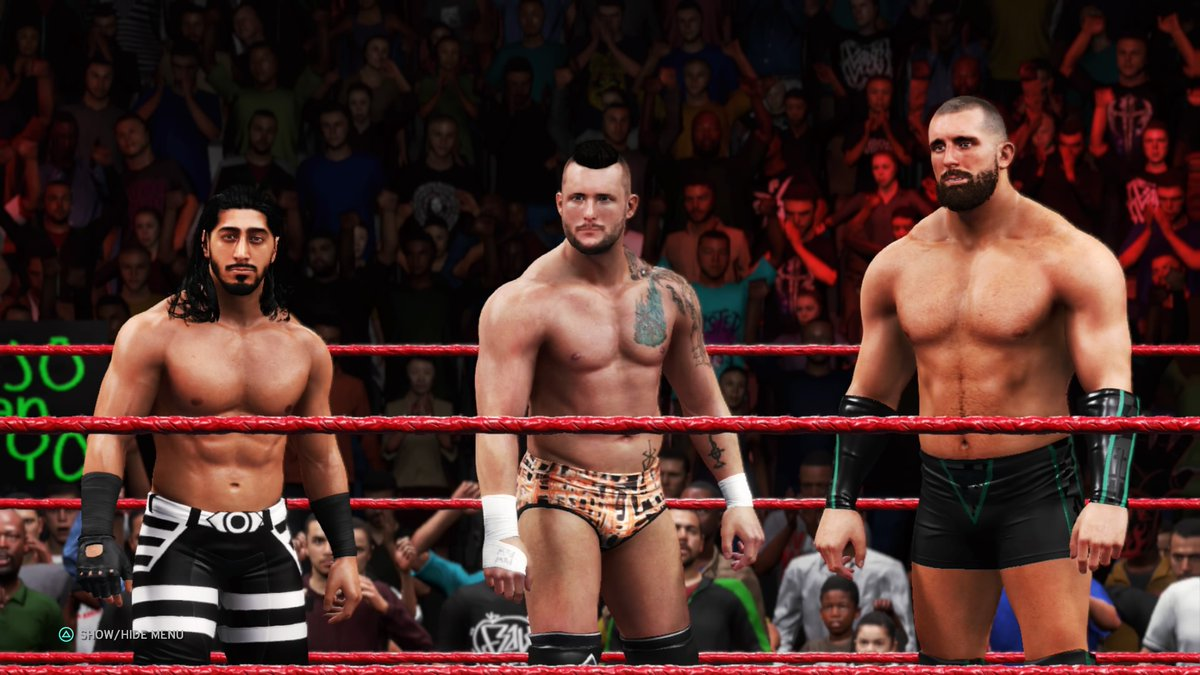 #RETRIBUTION PICK UP THEIR FIRST WIN! #ShaneThorne pins #TheHurtBusiness' #BobbyLashley. Is there a #USTitle opportunity coming for the Aussie?  #WWE #2K20 #WWE2K20 #RAW #WWERAW #NXT #WWENXT #SmackDown #Wrestle #Wrestling #ProWrestling https://t.co/Kc2jm1fSO4