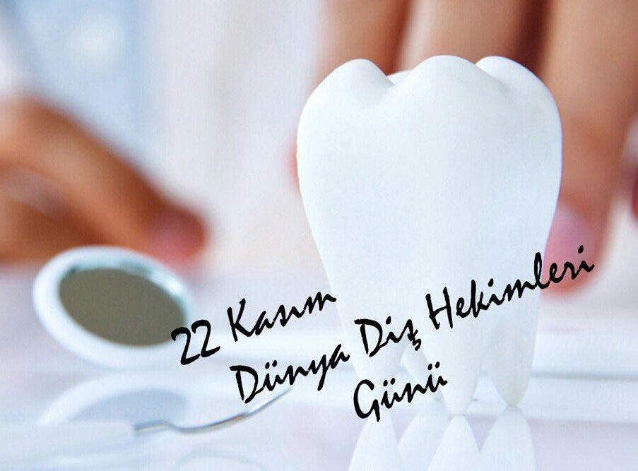 Bütün sağlık çalışanlarımızın Ağız ve Diş Sağlığı Haftası ve 22 KASIM Dünya Diş Hekimleri Günü kutlu olsun. 🦷 🌺  #22Kasım #Pazar #Günaydın #DişHekimleriGünü https://t.co/j6etfPfcy4