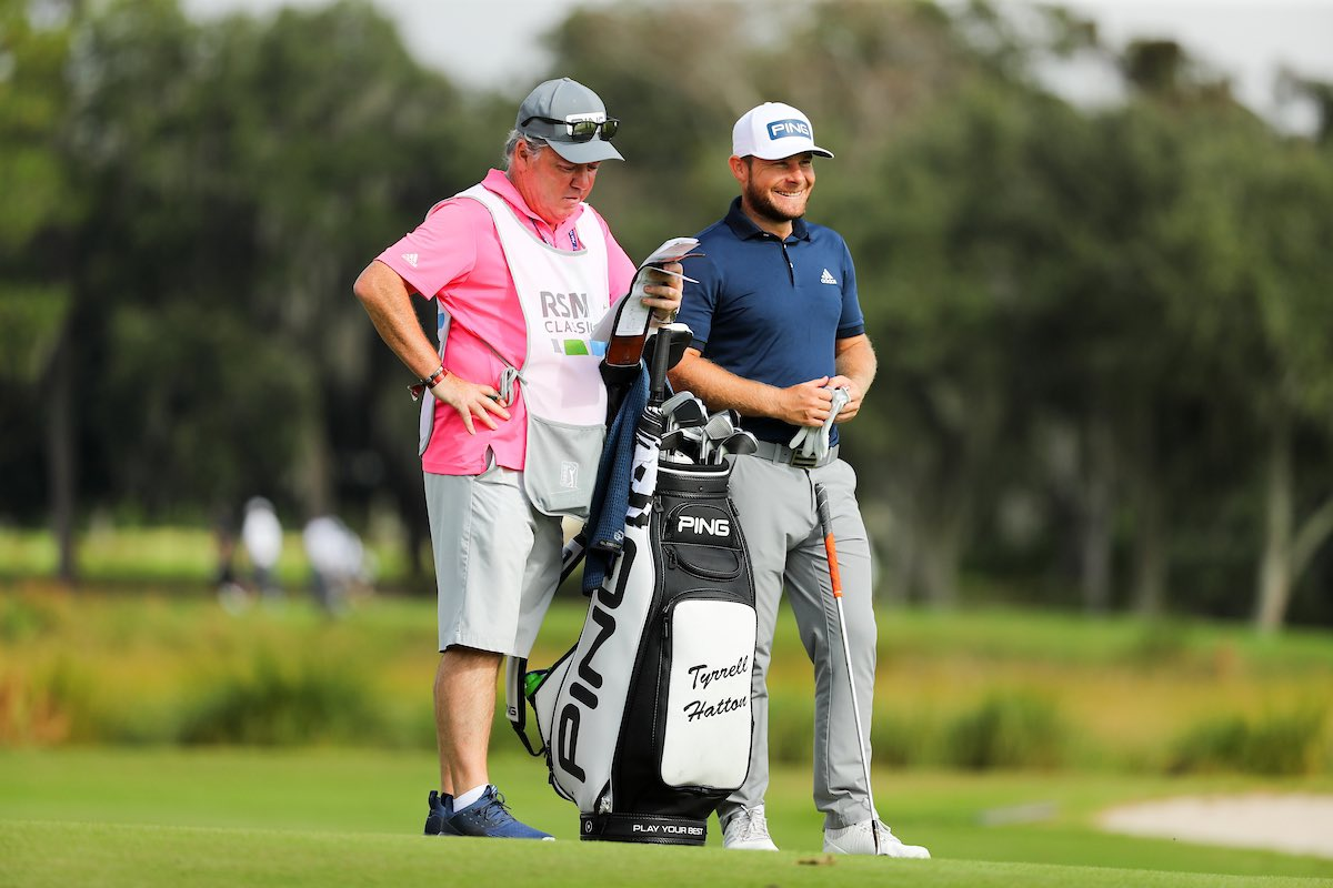 Replying to @TyrrellHatton: Nice to sign off 2020 in 🇺🇸 with a bogey free 65 💪🏻 See you in February @PGATOUR 👊🏻