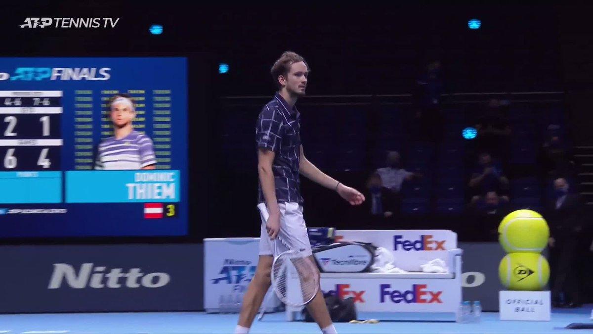 An incredible moment 🏆  🇷🇺 @DaniilMedwed, you are a #NittoATPFinals champion!  🎥: @TennisTV   https://t.co/cf9ITXSzYo