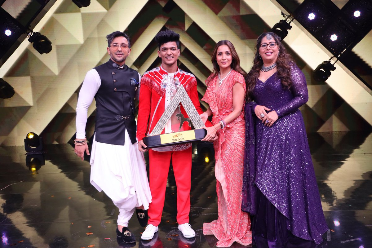 The first season of India's Best Dancer finds its winner in Tiger Pop, from Gurugram #IndiasBestDancer #Tigerpop @SonyTV @terencehere