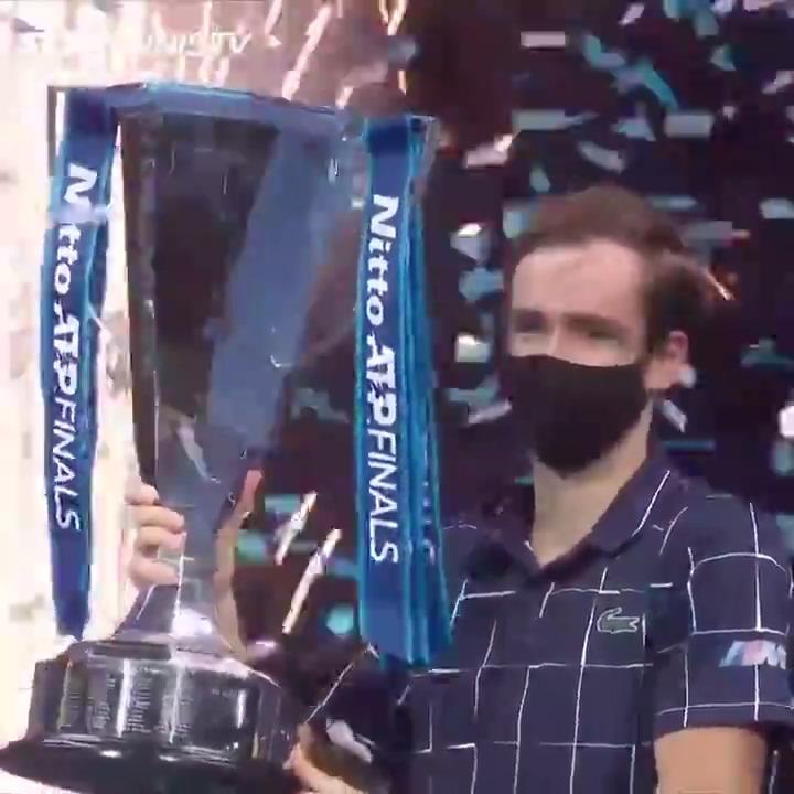 12 years, 8 different champions at the #NittoATPFinals in London 🙌  09: Davydenko 🇷🇺 10: Federer 🇨🇭 11: Federer 🇨🇭 12: Djokovic 🇷🇸 13: Djokovic 🇷🇸 14: Djokovic 🇷🇸 15: Djokovic 🇷🇸 16: Murray 🇬🇧 17: Dimitrov 🇧🇬 18: Zverev 🇩🇪 19: Tsitsipas 🇬🇷 20: Medvedev 🇷🇺 https://t.co/AcmU9CeGan