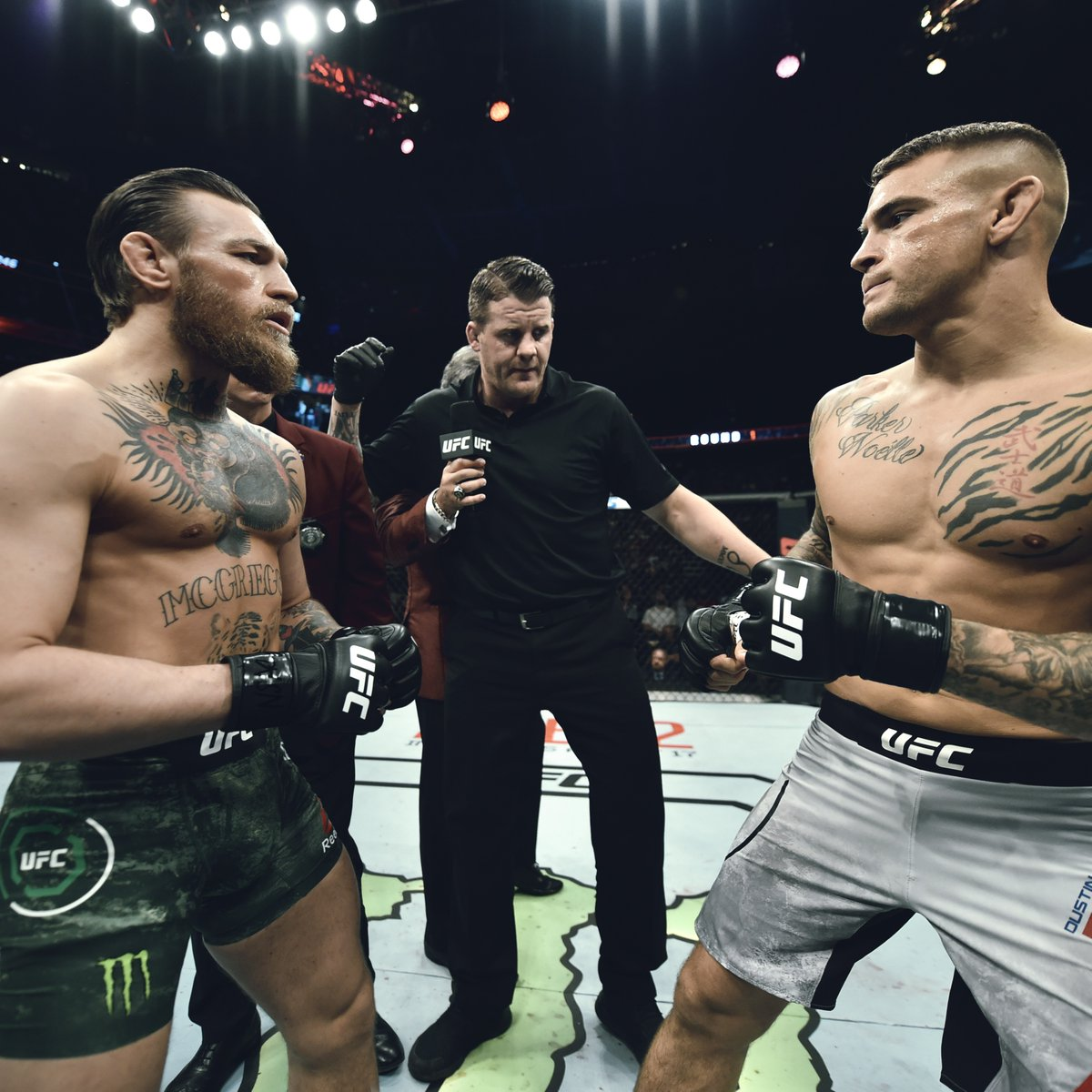 Give us your predictions.   How do you see the rematch going down? 💎🇮🇪 #UFC257 https://t.co/pCMM2iRhMl