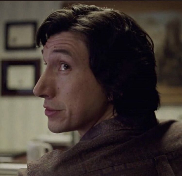 Replying to @adambsolodriver: noah really knew how to capture the beauty of adam driver's side profile