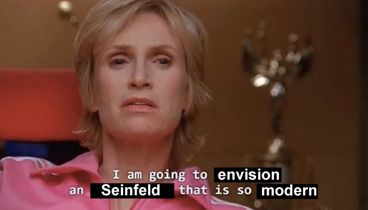 Seinfeld Current Day (@Seinfeld2000) on Twitter photo 22/11/2020 22:50:25