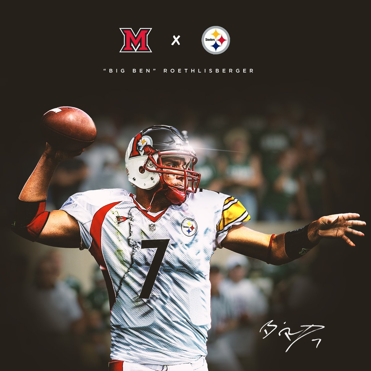 1️⃣7️⃣ Years in the #NFL   Still showing why he is one of the greatest to ever do it!  Congratulations to @_BigBen7, 10-0 in 2020!  🐐🐐🐐  #RiseUpRedHawks | 🎓🏆 https://t.co/aZlh8kIwc2