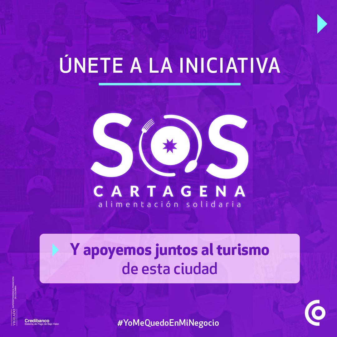 Ayúdanos a llevar almuerzos a la población más vulnerable de Cartagena y al tiempo reactivaremos el sector turístico que se ha visto tan afectado en esta ciudad. Conoce más aquí:   #SOSCartagena